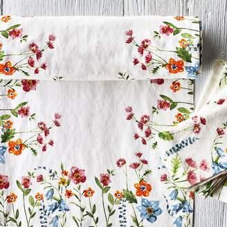 """Sur La Table Floral Table Runner, 108"""" x 16"""""""