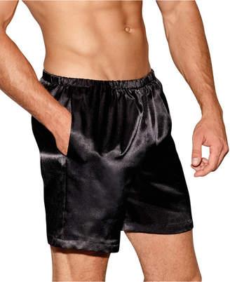 Dreamgirl Men's Satin Boxer Shorts