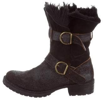 Fiorentini+Baker Shearling Ankle Boots