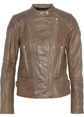 Belstaff Glyde Leather Biker Jacket