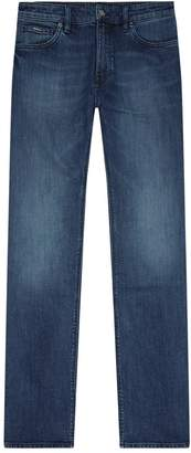 HUGO BOSS Fade Effect Regular Fit Jeans