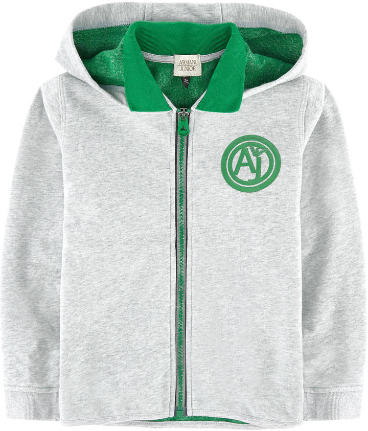 Armani JuniorMottled hoodie