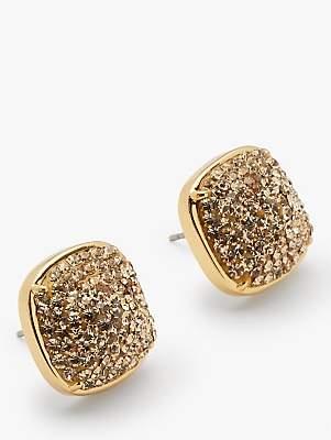 5e1e9a3df Clear Crystal Stud Earrings - ShopStyle UK