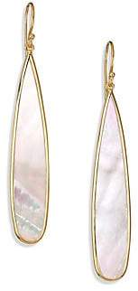 Ippolita Women's Polished Rock Candyé Mother-Of-Pearl& 18K Yellow Gold Drop Earrings