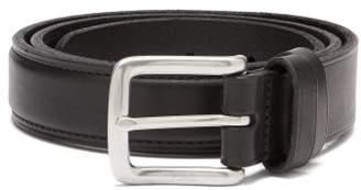 Polo Ralph Lauren Logo Leather Belt - Mens - Black