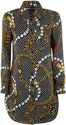 Moschino All-over Print Dress