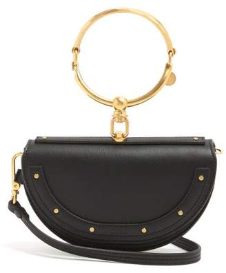 Chloé Nile Minaudiere Leather Clutch - Womens - Black