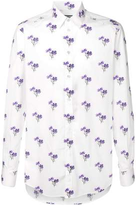 Dolce & Gabbana floral pattern shirt