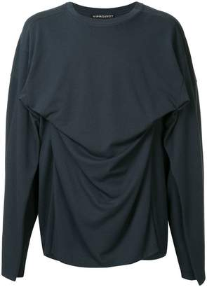 Y/Project Y / Project ruched sweatshirt