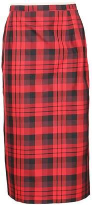 N°21 N.21 Checked Skirt