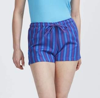 BRITISH BOXERS Women s Pyjama Shorts In Jester Stripe Flannel 48d128dfc