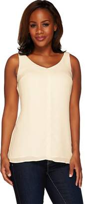 G.I.L.I. Got It Love It G.I.L.I. Sleeveless V-Neck Tunic with Front Seam Detail