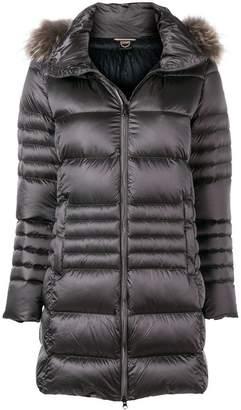 Colmar fur trimmed puffer jacket