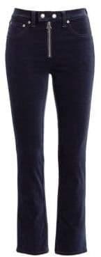 Rag & Bone Dojo Velvet Ankle Jeans
