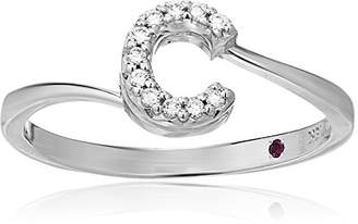 Roberto Coin Women's 001634AWLRXC Diamond Initial Ring
