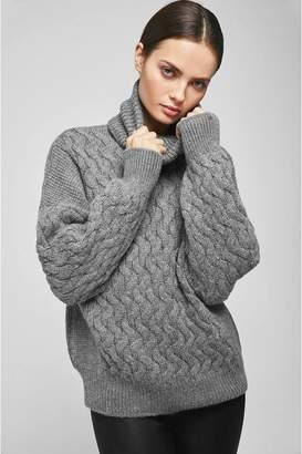 Anine Bing Elsa Sweater - Heather Grey