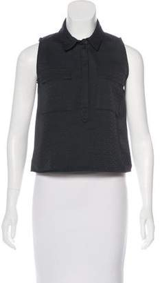 Billy Reid Sleeveless Button-Up Top