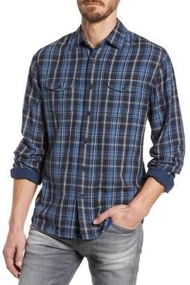 Grayers Lloyd Slim Fit Plaid Sport Shirt