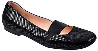 Taryn Rose Bary Leather Ballet Flats $229 thestylecure.com