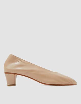 Martiniano High Glove Heel in Antelope