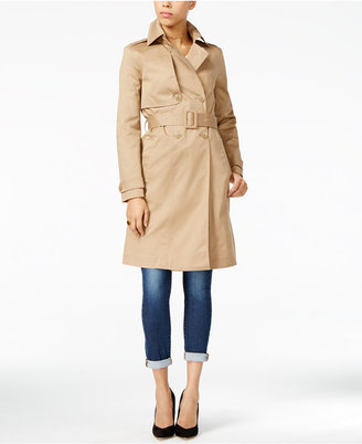 Armani Exchange Belted Trench Coat $200 thestylecure.com