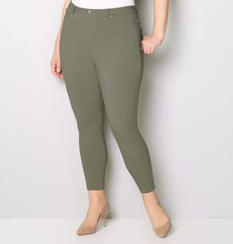 Avenue 5 Pocket Stretch Jean in Olive