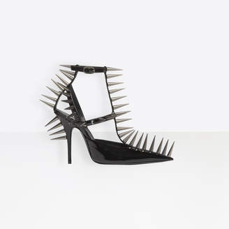 Balenciaga Extreme pointed toe pumps with black pikes