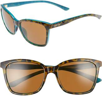 Smith 'Colette' 55mm ChromaPop(TM) Polarized Sunglasses