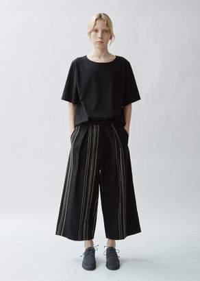 Y's Wide Leg Cotton Linen Pants