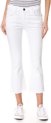 Current/Elliott The Cropped Flip Flop Jeans $188 thestylecure.com