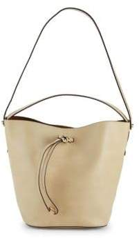 Furla Vittoria Leather Bucket Bag