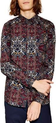 Topman Octopaisley Print Shirt