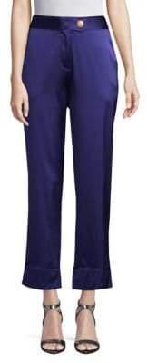 Pierre Balmain Banded Straight Pants