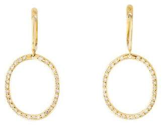 Ileana Makri 18K Diamond Mini Again Drop Earrings