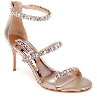 Badgley Mischka Yasmine Crystal Embellished Sandal