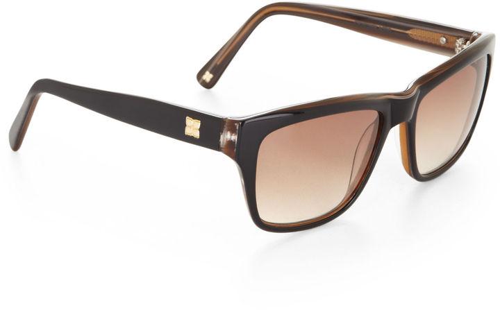 BCBGMAXAZRIA Lana Wayfarer Sunglasses