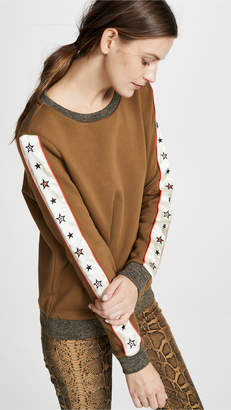 Scotch & Soda/Maison Scotch Crew Neck Star Sweatshirt