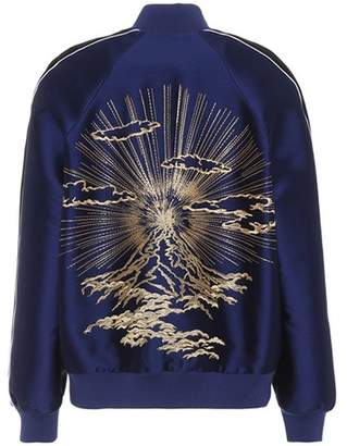Stella McCartney Lorinda embroidered bomber jacket