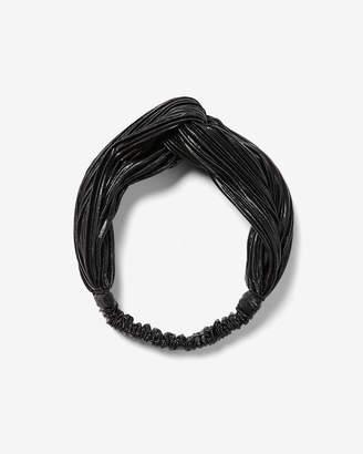 Express Natasha Satin Shine Knot Headband