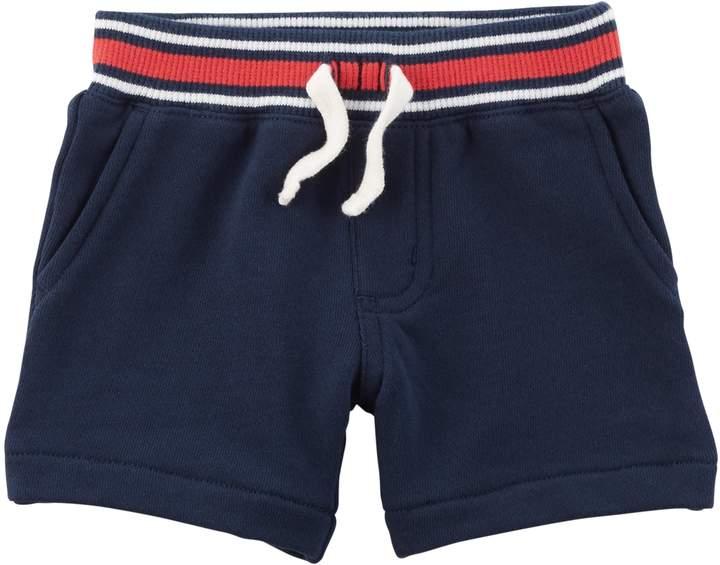 Baby Boy Cuffed Pull-On Shorts