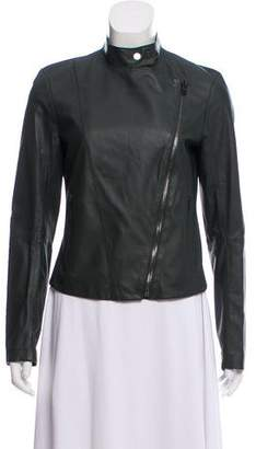 Joseph Asymmetrical Leather Jacket