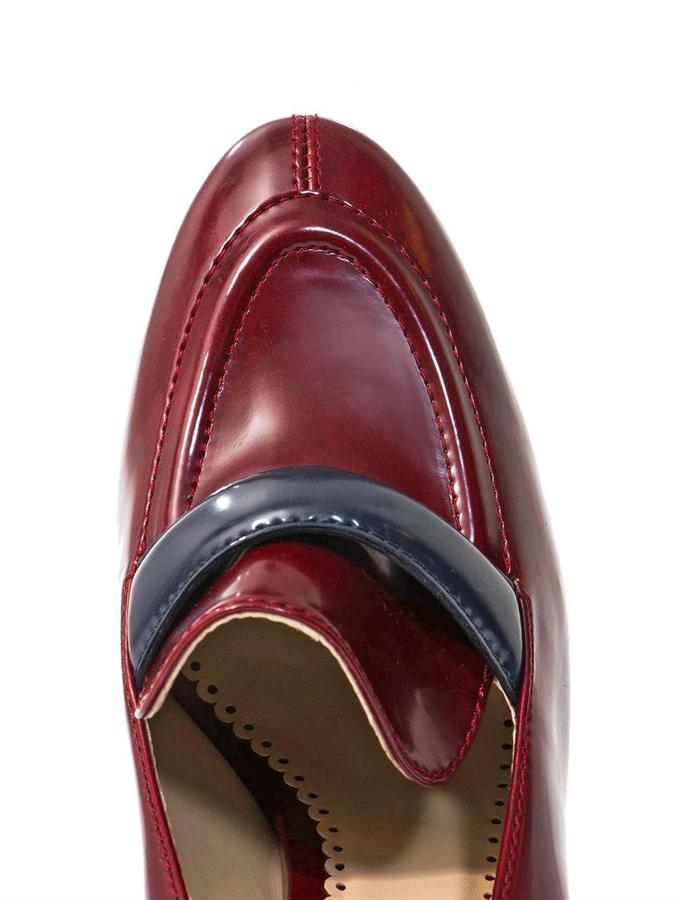 Stella McCartney Mary high-heel loafers