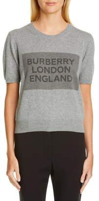 Burberry Logo Cashmere Sweater