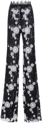 Naeem Khan Floral Trousers