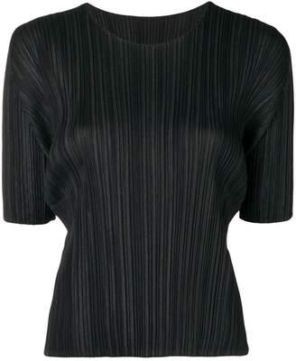 Pleats Please Issey Miyake pleated T-shirt