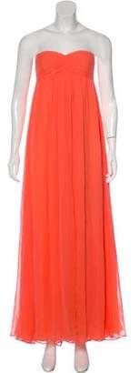 Robert Rodriguez Strapless Maxi Dress