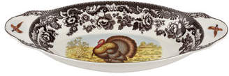 Spode Woodland Turkey Bread Tray