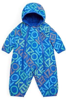 Kenzo Logo Print Snowsuit