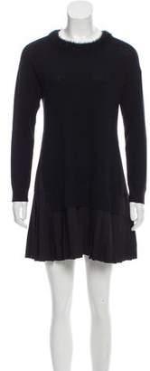 Timo Weiland Long Sleeve Paneled Dress