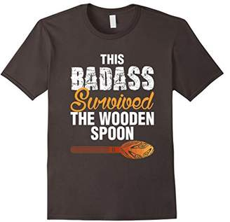 This Badass Survived The Wooden Spoon T-shirt